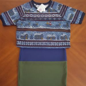 NWT LuLaRoe Jane & Cassie outfit